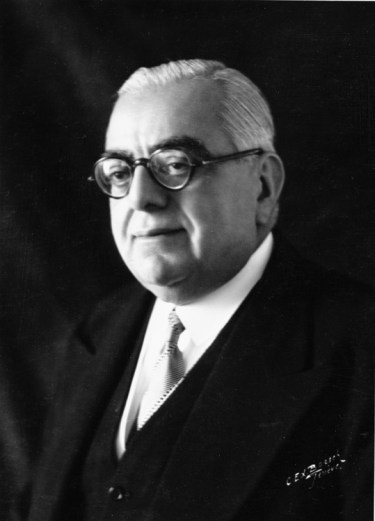 His Highness Aga Sir Sultan Muhammad Shah, Aga Khan III - President of the Assembly, League of Nations - Photo League of Nations Archieve