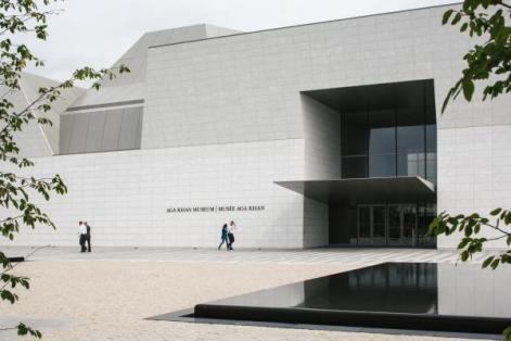 The Aga Khan Museum's entrance points towards the neighbouring Ismaili Centre's prayer hall, which faces Mecca (Photo via Monocle)