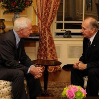 "Governor General of Canada's letter to His Highness the Aga Khan: ""Your belief in the value of working across physical and spiritual borders illuminates our world."""