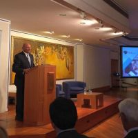 Photographs from the University of Central Asia's event at the Ismaili Centre London