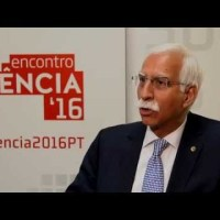 Aga Khan University President Firoz Rasul gives an interview at Portugal's Science Encounter 2016 (in English)