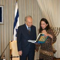 Dr. Nur Amersi: A memorable sunday morning in June with Shimon Peres, President of Israel