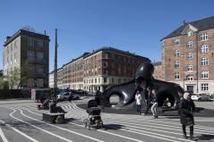 The Black Octopus from Japan. Aga Khan Award for Architecture 2016 Winner: Superkilen, Copenhagen, Denmark