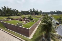 Located near the Brahma-Jamuna River. Aga Khan Award for Architecture 2016 Winner: Friendship Centre Gaibandha, Bangladesh