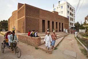 A perfect square. Aga Khan Award for Architecture 2016 Winner: Bait ur Rouf Mosque Dhaka, Bangladesh