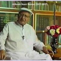 On the passing away of Allamah Nasir Hunzai (1917-2017)