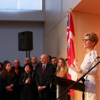 Ontario Premier Kathleen Wynne celebrated Nowruz at the Ismaili Centre in Toronto