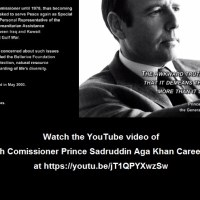 Video: UNHCR: High Comissioner Prince Sadruddin Aga Khan Career Highlights