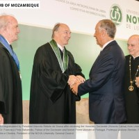 Club of Mozambique: Aga Khan receives honoris causa PhD from New University of Lisbon