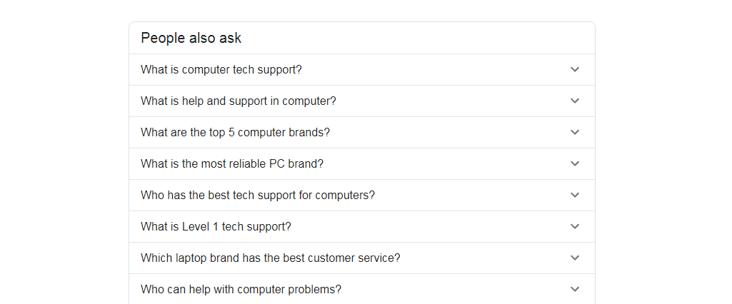 People also ask What is computer tech support? What is help and support in computer?