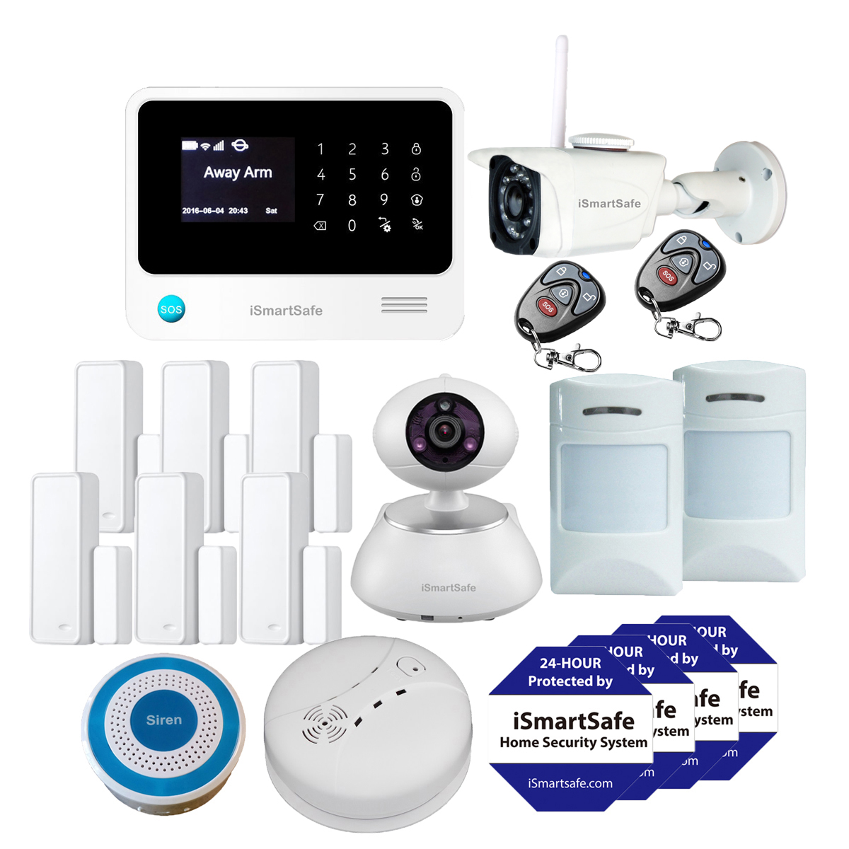 Alarm Burglar Wireless Best