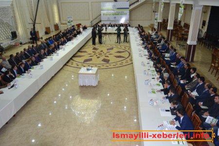İsmayıllıda IV Qafqaz İqtisadi Forumu