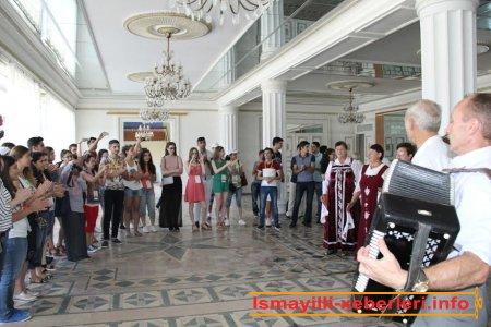 III Beynəlxalq Multikulturalizm Yay məktəbinin nümayəndələri İsmayıllıda