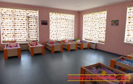İsmayıllıda 140 yerlik körpələr evi-uşaq bağçasının açılışı olub
