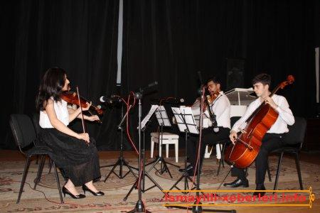 İsmayıllı şəhərində Prezident təqaüdçülərinin konserti keçirilib