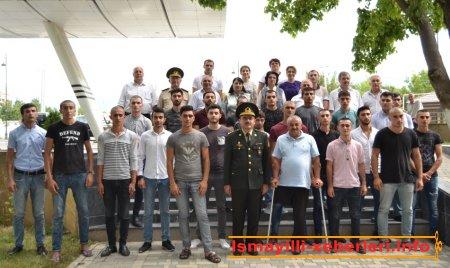 İsmayıllı gəncləri hərbi xidmətə yola salınıb