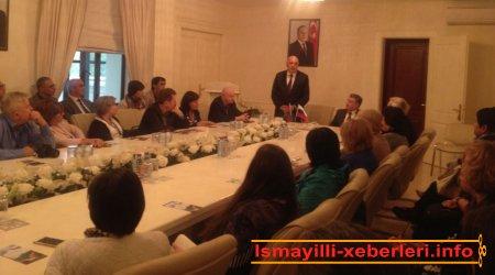 Beynəlxalq elmi-praktik forumun nümayəndə heyəti İsmayıllıda