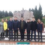 İsmayıllı gəncləri Ümummilli liderin məzarını ziyarət ediblər