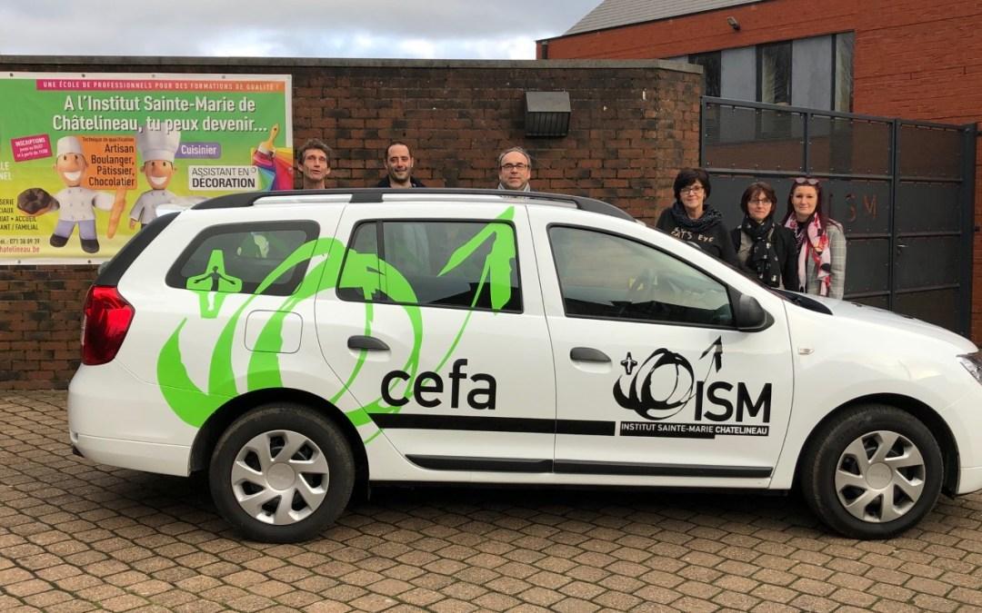 Le nouveau véhicule ISM