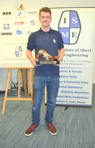 Alexander Johnson Babcock Overall Winner ISME Trophy 2017