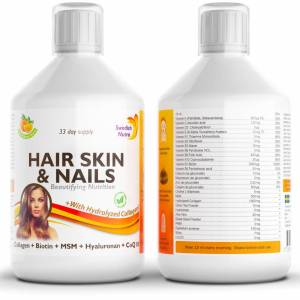 Hair, skin and nails - Strengthen them with prized vitamins