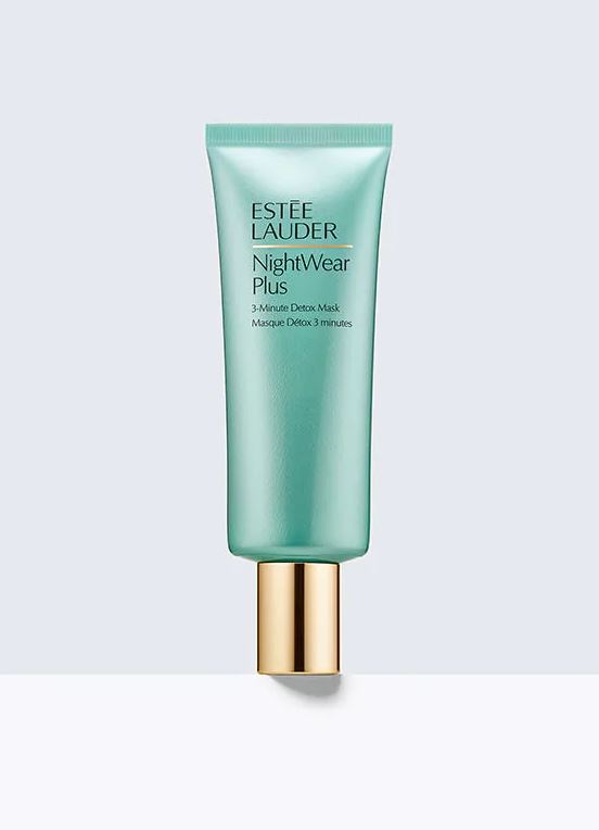 estee lauder nightwear plus 3 minute detox mask