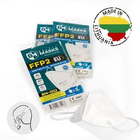 ffp2 kaitsemask toodetud euroopas