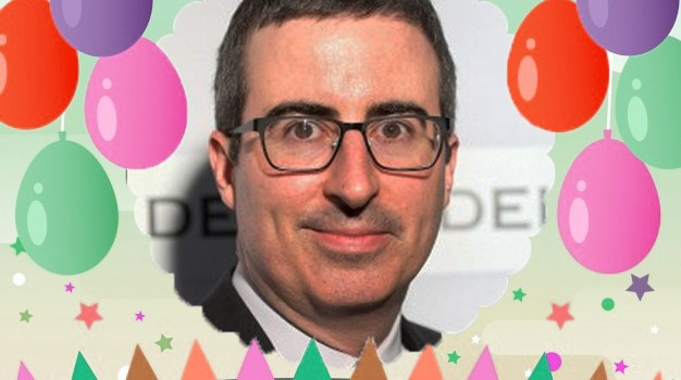 April 23 – John Oliver gets a platitude adjustment