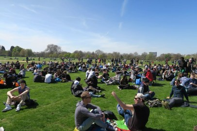 , 4/20 2016 in Hyde Park London, ISMOKE