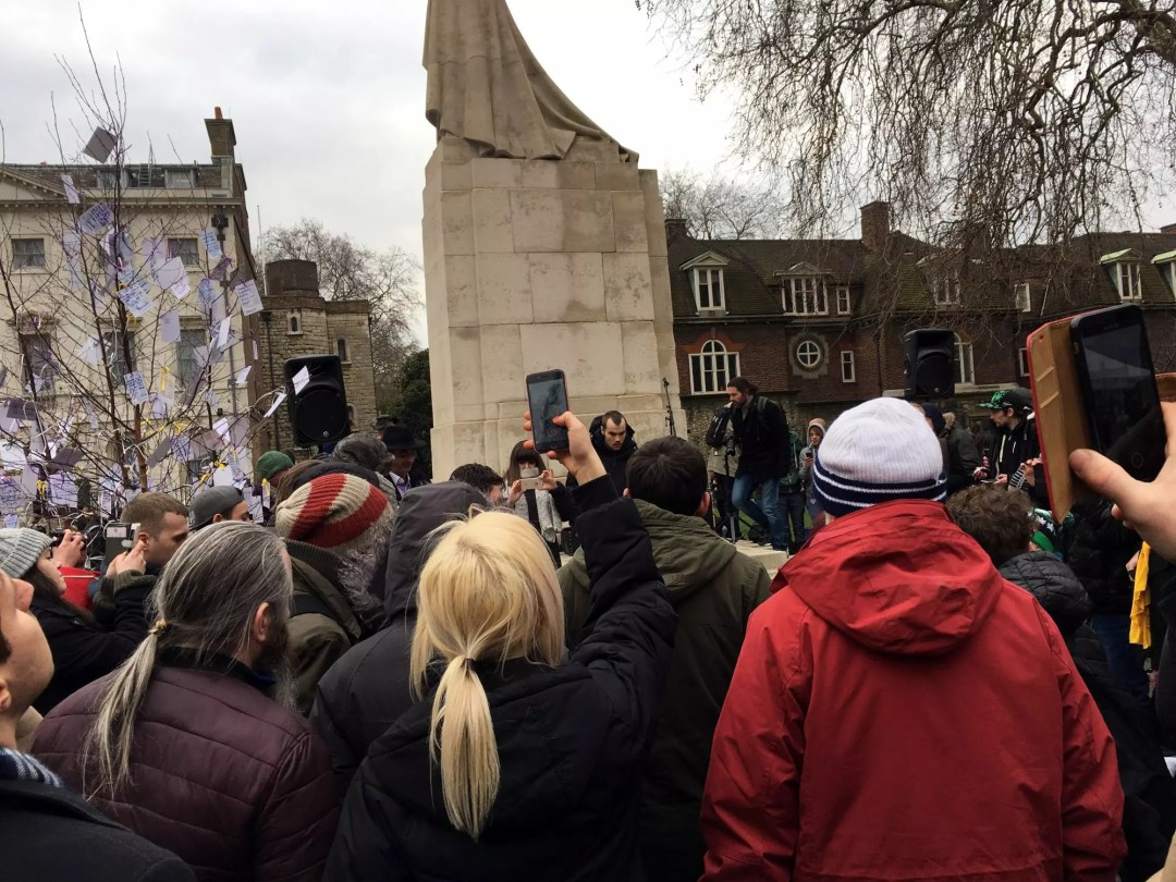, Patients At Parliament 2 protest February 2018
