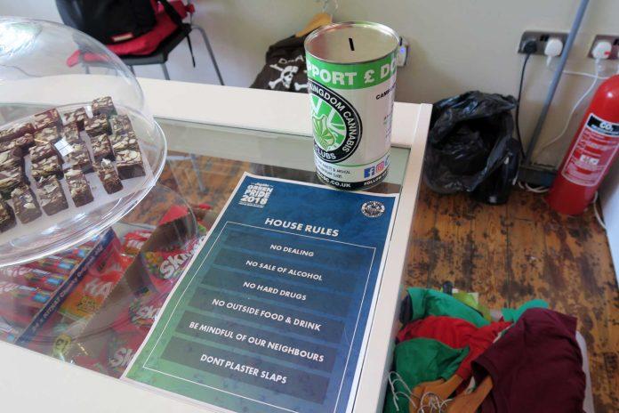 , Visiting Green Pride HQ in Brighton