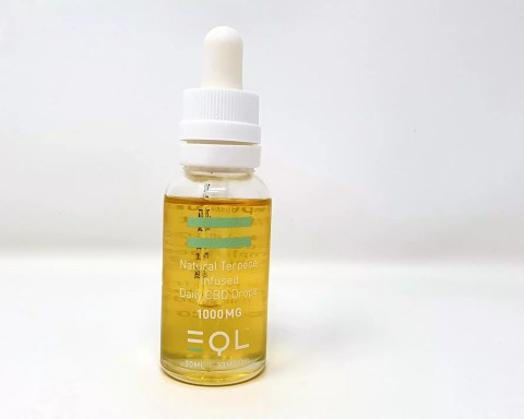 EQL terpene infused cbd oil