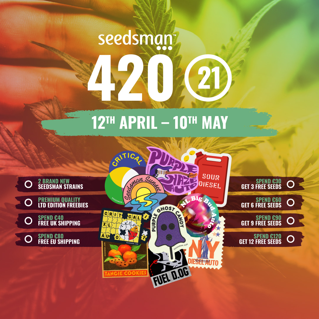 Seedsman's 420 giveaway is now live!