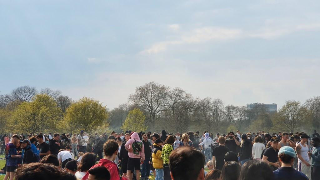 , ISMOKE at 420 Hyde Park London 2021, ISMOKE