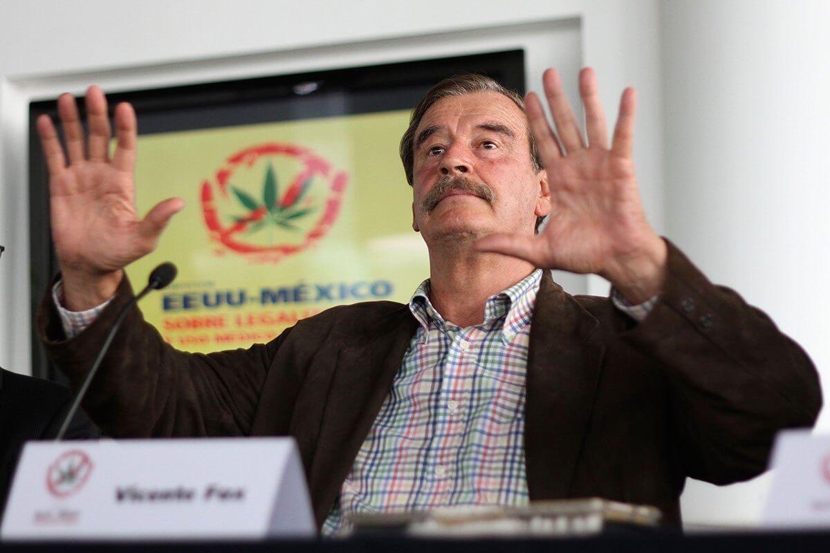 Vicente Fox explica cómo legalizar las drogas en Latinoamérica en tan solo 5 pasos