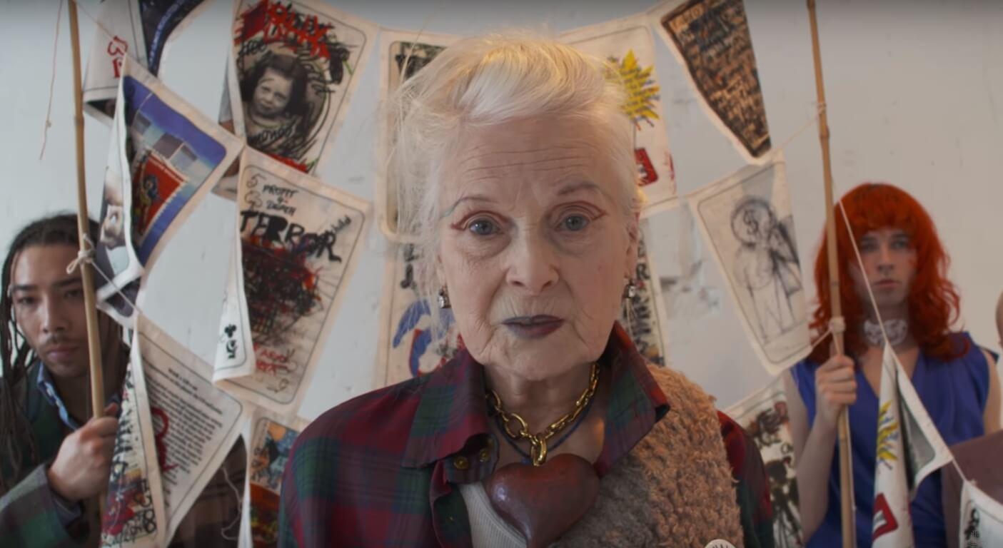 """""""Don't Get Killed"""": Vivienne Westwood es la guerrera de la androginia steampunk en su nueva colección"""