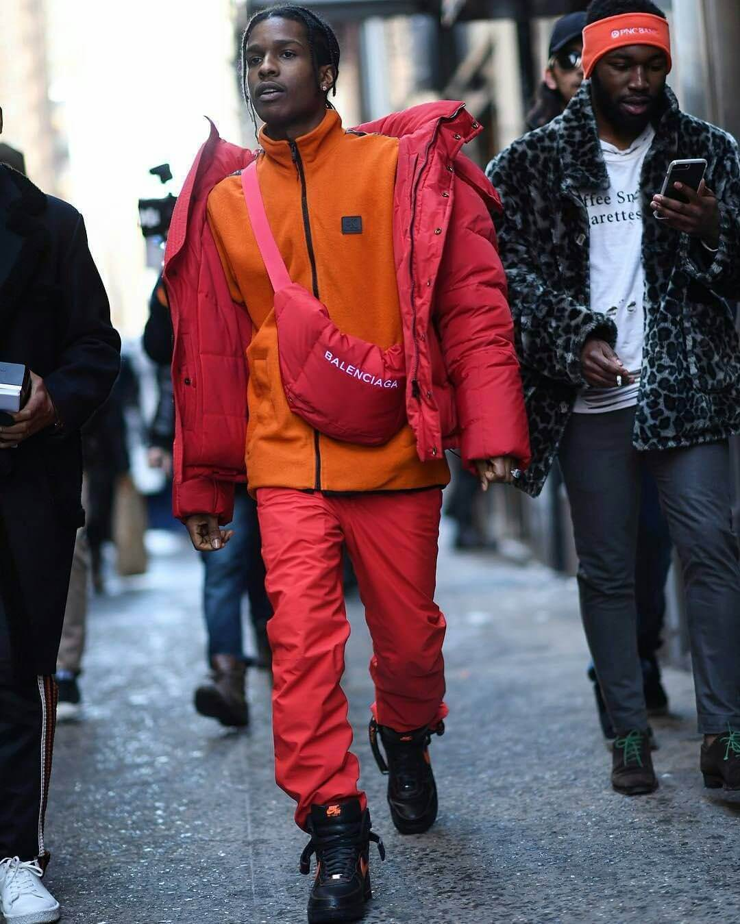 A$AP Rocky, fiel seguidor de Balenciaga. Fotografía. Getty