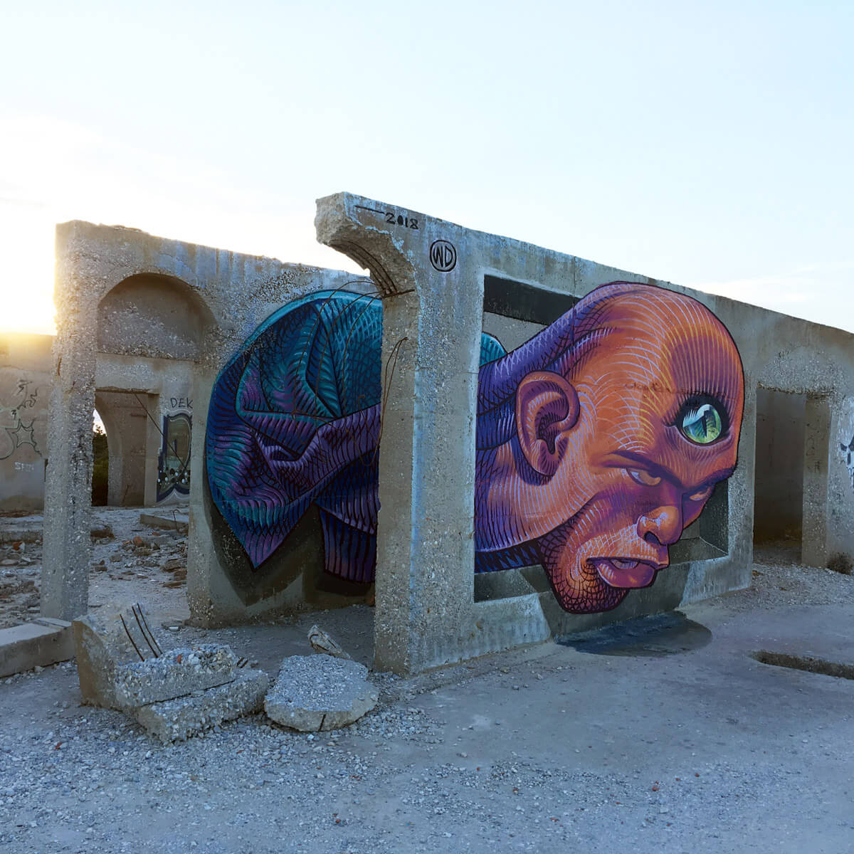 Wild Drawing: Street art fotorrealista y en 3D con espíritu de resistencia