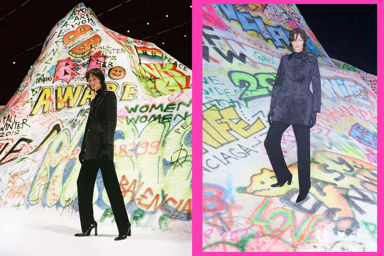 Balenciaga: Winter 18 Fotografía: Pierre-Ange Carlotti & Johnny Dufort