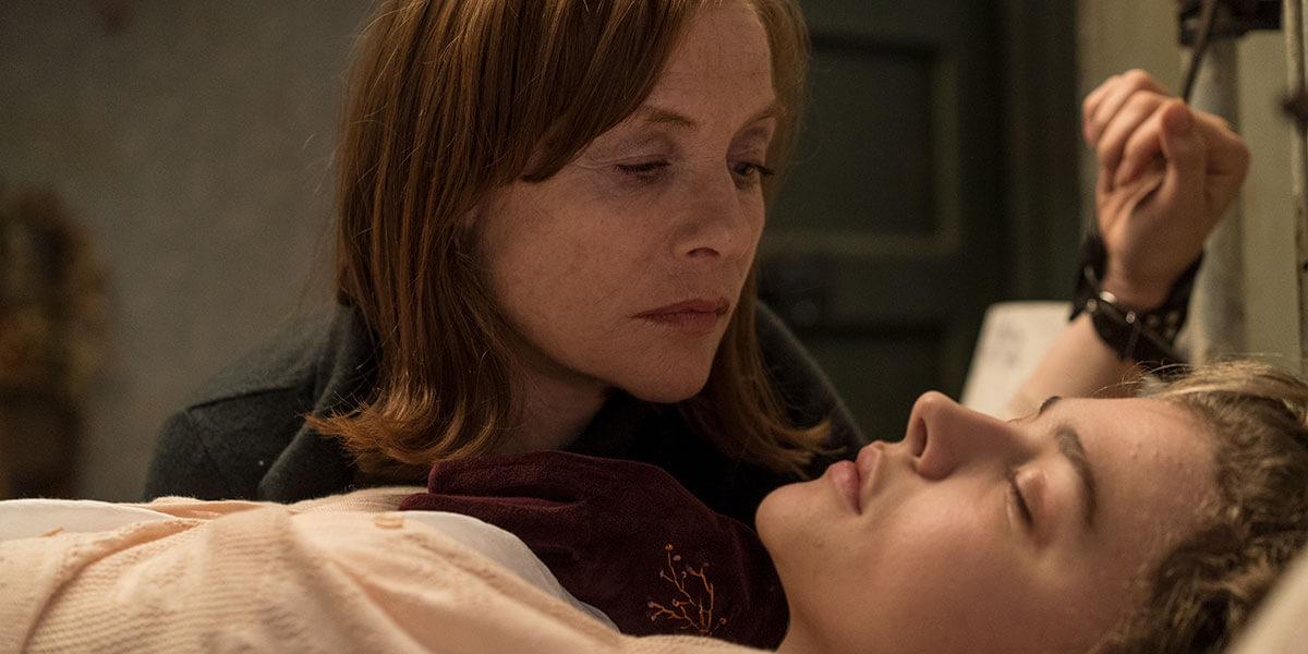 """Greta"": Isabelle Huppert acosa a Chloë Grace Moretz en este thriller sobre una stalker descontrolada"