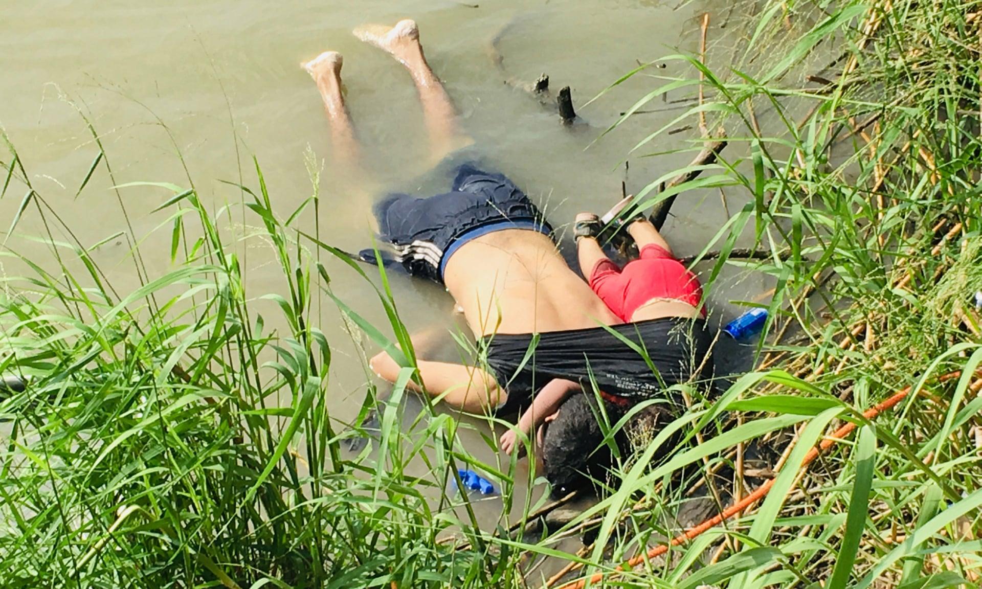 La impactante imagen que resume la tragedia de los inmigrantes en la frontera estadounidense