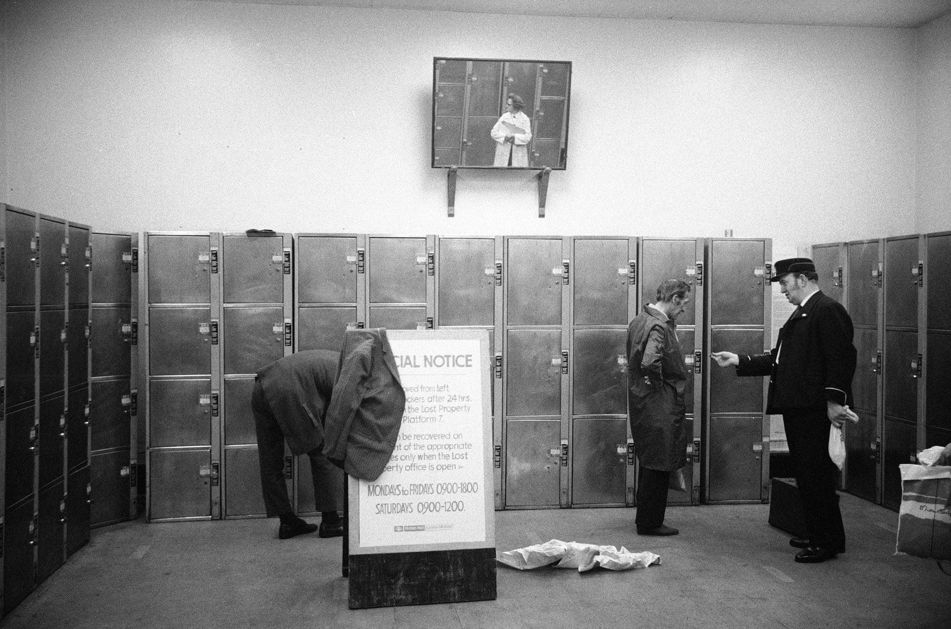 """St Pancras, Left Luggage, London, 1973"". Fotografía: Brian Griffin"