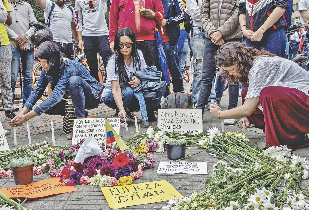 Colombia: Medicina Legal confirma que Dylan Cruz murió por disparo del ESMAD