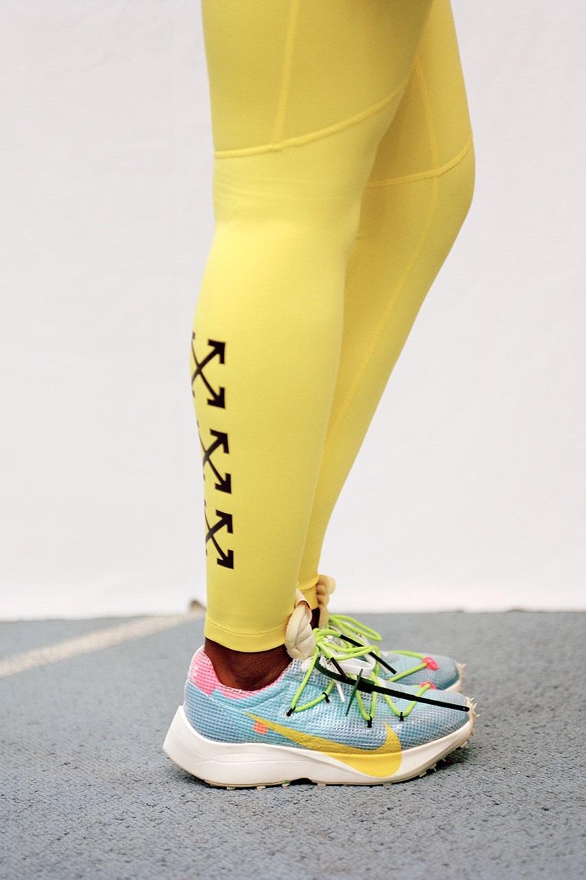 """""""Athlete In Progress"""" de Nike y Virgil Abloh. Foto: Hype Beast"""