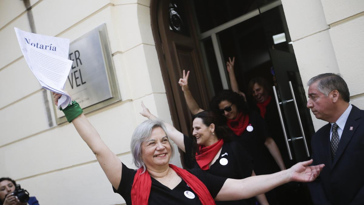 Gracias al movimiento Las Tesis, nace el primer partido feminista de Chile