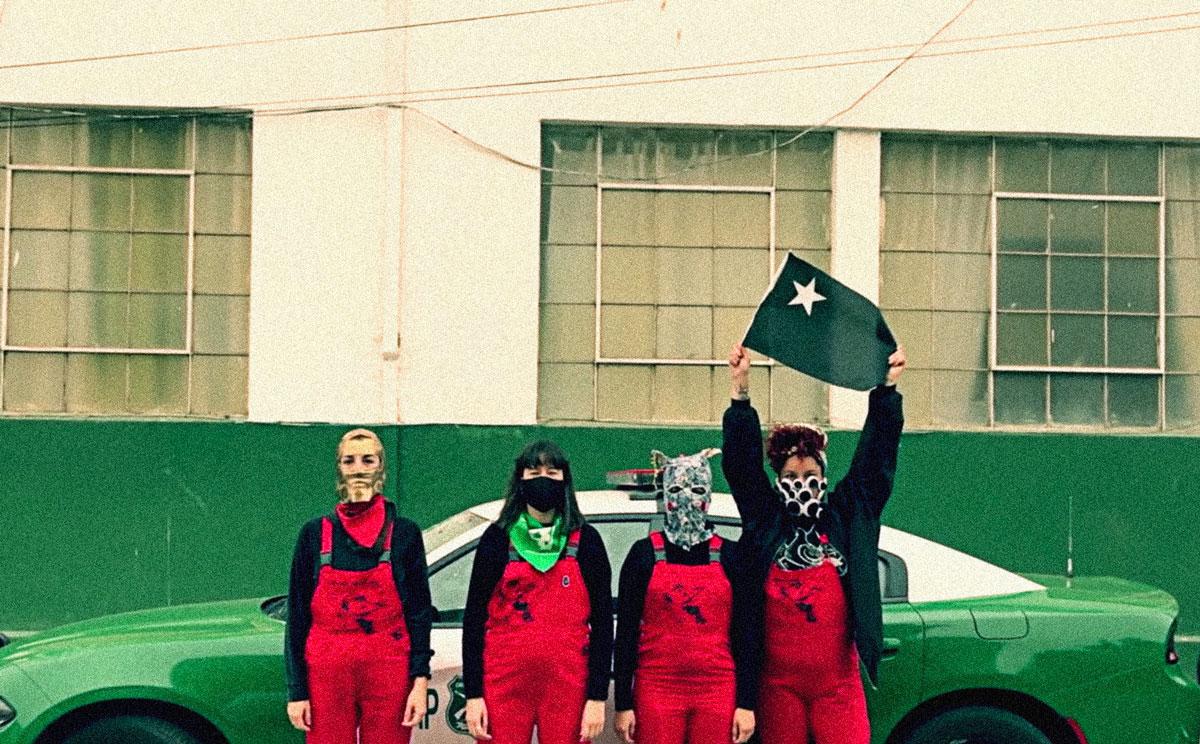 """Chile: Carabineros interpone una denuncia contra el colectivo Las Tesis por """"incitación a la violencia y al odio"""""""