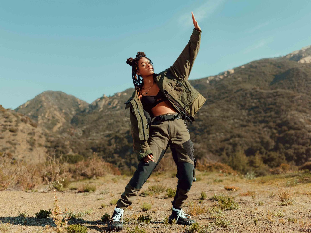 Willow Smith protagoniza el lookbook de la colección FW20 de la firma japonesa Onitsuka Tiger