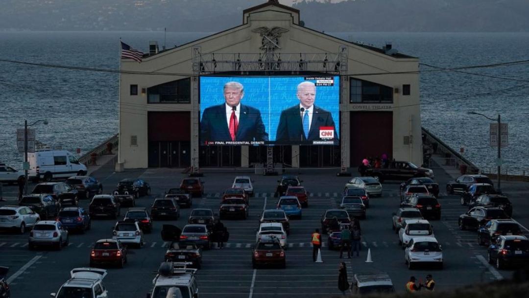 Con un mayor nivel de discusión, Trump y Biden debatieron por última vez antes de las elecciones