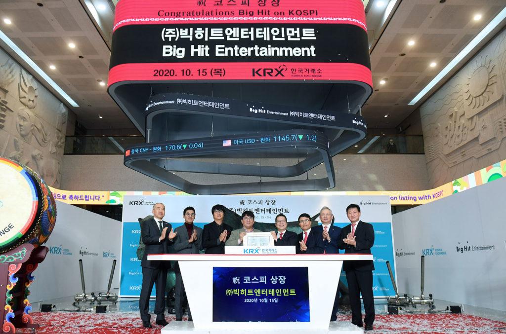 Big Hit se convierte en la agencia K-pop más grande del mundo
