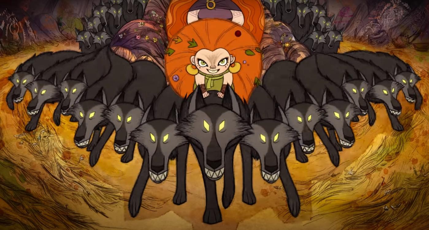 """""""Wolfwalkers"""": Esta historia surrealista y fantástica del folklore irlandés es una de las mejores películas animadas del año"""
